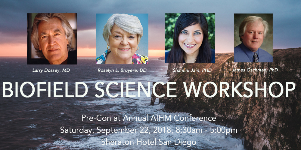 Biofield Science Workshop: Pre-Con at the AIHM Annual Conference 2018